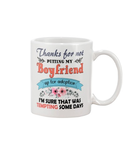 Thanks For not putting my boyfriend