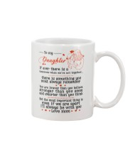 TO MY DAUGHTER FROM MOM Mug front