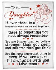 "TO MY DAUGHTER FROM MOM Small Fleece Blanket - 30"" x 40"" thumbnail"
