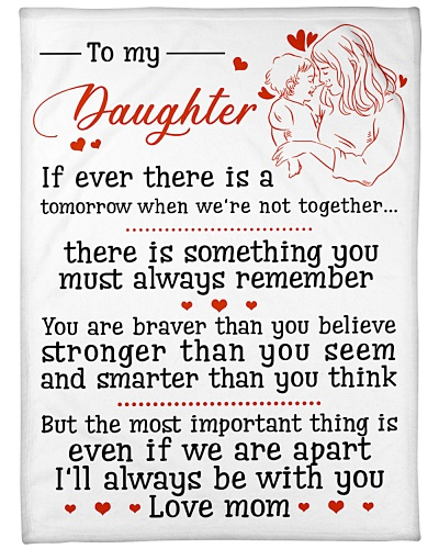 TO MY DAUGHTER FROM MOM
