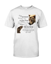 1 DAY LEFT - TO MY GRANDSON FROM GRANDPA BEARS Classic T-Shirt thumbnail