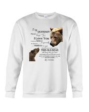 1 DAY LEFT - TO MY GRANDSON FROM GRANDPA BEARS Crewneck Sweatshirt thumbnail