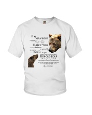 1 DAY LEFT - TO MY GRANDSON FROM GRANDPA BEARS Youth T-Shirt thumbnail