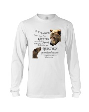 1 DAY LEFT - TO MY GRANDSON FROM GRANDPA BEARS Long Sleeve Tee thumbnail