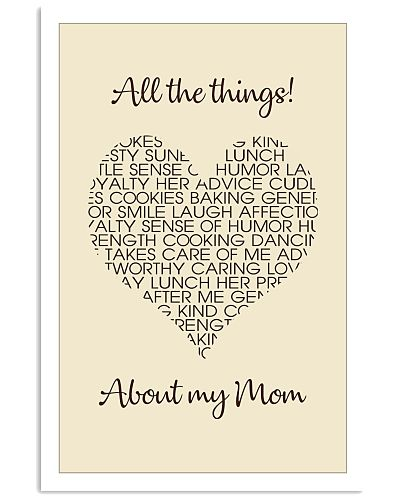 All The Things About My Mom