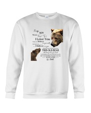 1 DAY LEFT - TO SON FROM DAD BEARS Crewneck Sweatshirt thumbnail