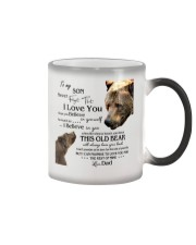 1 DAY LEFT - TO SON FROM DAD BEARS Color Changing Mug thumbnail