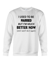 I Used To Be Married Crewneck Sweatshirt thumbnail