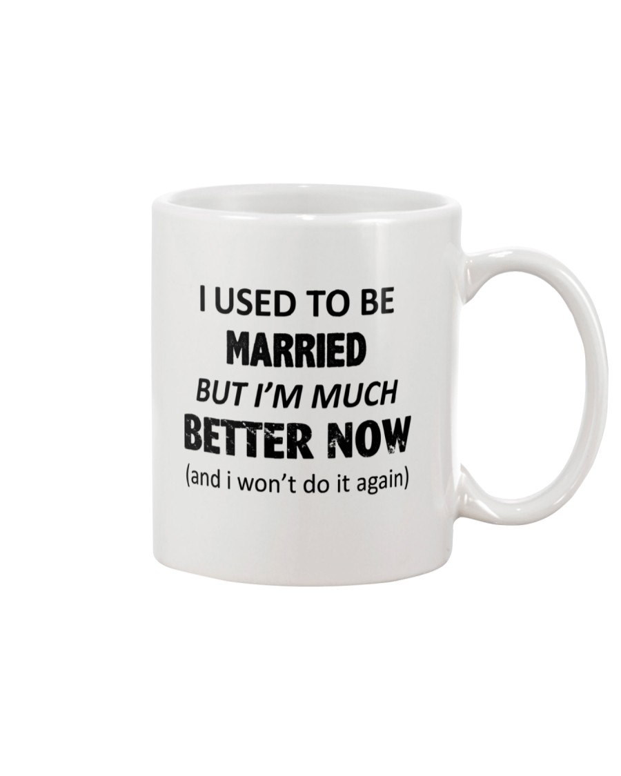I Used To Be Married Mug