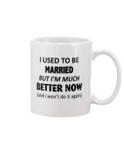 I Used To Be Married Mug tile
