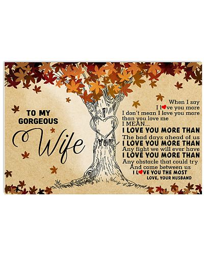 To My Gorgeous Wife - I Love You More