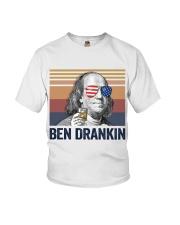 US DRINK BEN DRANKIN Youth T-Shirt thumbnail