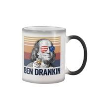 US DRINK BEN DRANKIN Color Changing Mug thumbnail