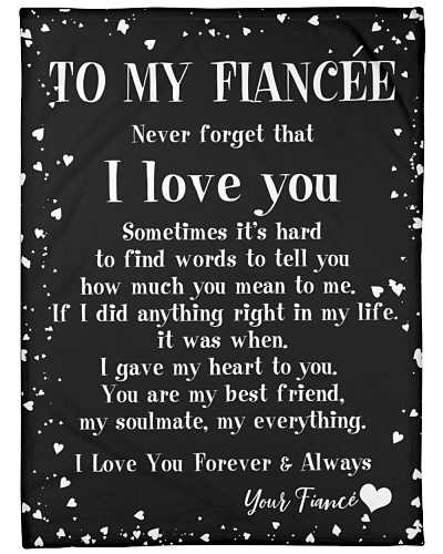 MY FIANCEE I LOVE YOU FROM FIANCE