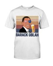 US DRINK BARACK OBLACK Classic T-Shirt front