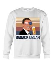 US DRINK BARACK OBLACK Crewneck Sweatshirt thumbnail