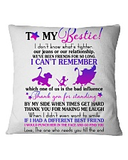 To My Bestie Square Pillowcase thumbnail