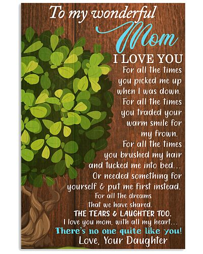 To My Wonderful Mom