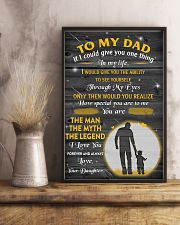 TO MY DAD POSTER 16x24 Poster lifestyle-poster-3