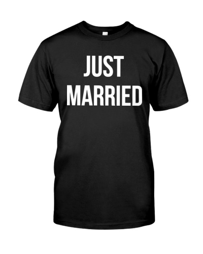 Just Married Husband