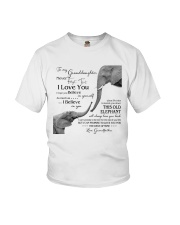 1 DAY LEFT - TO MY GRANDDAUGHTER ELEPHENTS Youth T-Shirt thumbnail