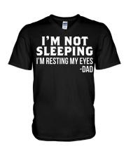 im not sleeping dad V-Neck T-Shirt thumbnail