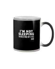im not sleeping dad Color Changing Mug thumbnail