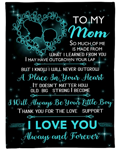 TO MY MOM Blanket 14448126