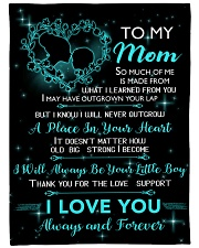 "TO MY MOM Blanket 14448126 Large Fleece Blanket - 60"" x 80"" front"