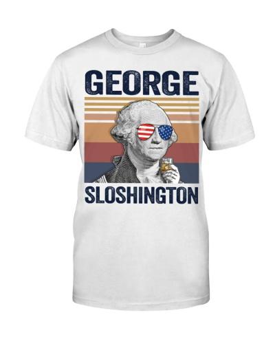 US DRINK GEOGRE SLOSHINGTON