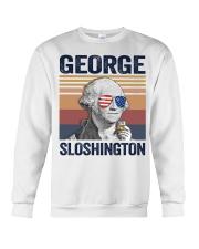 US DRINK GEOGRE SLOSHINGTON Crewneck Sweatshirt thumbnail