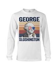 US DRINK GEOGRE SLOSHINGTON Long Sleeve Tee thumbnail