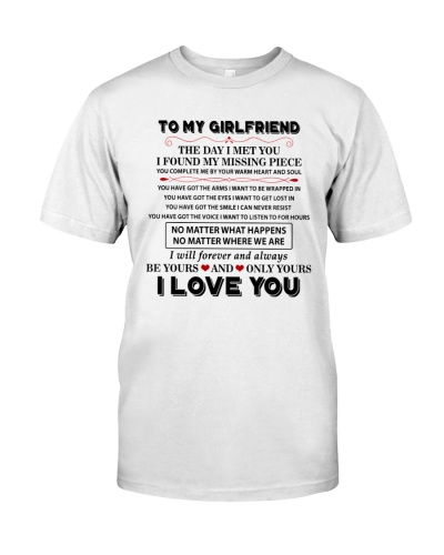 To My Girlfriend I Love You
