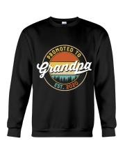 Grandpa promoted to est 2020 Crewneck Sweatshirt thumbnail