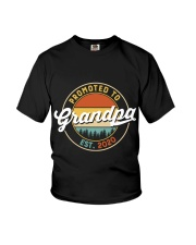 Grandpa promoted to est 2020 Youth T-Shirt thumbnail