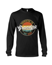 Grandpa promoted to est 2020 Long Sleeve Tee thumbnail
