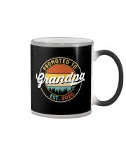 Grandpa promoted to est 2020 Color Changing Mug thumbnail