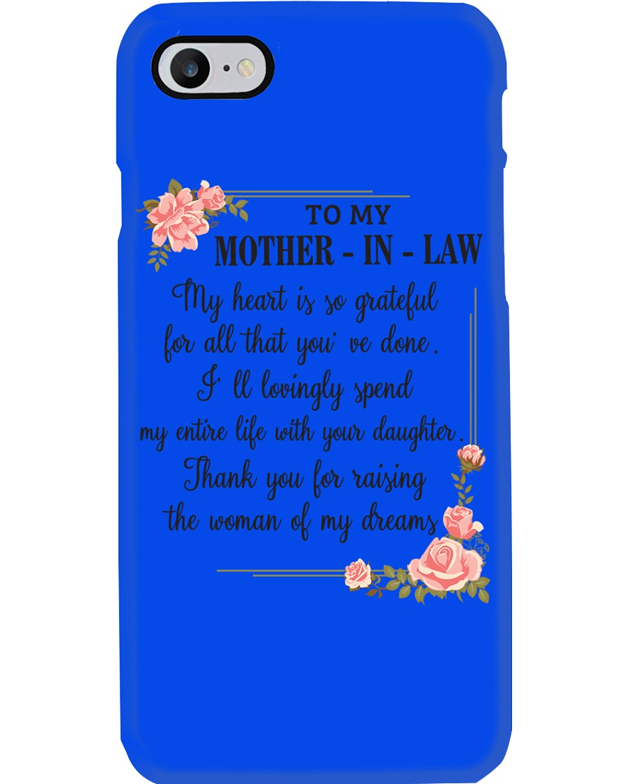 mother in law woman Phone Case
