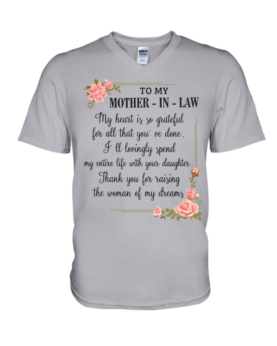 mother in law woman V-Neck T-Shirt