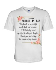 mother in law woman V-Neck T-Shirt thumbnail