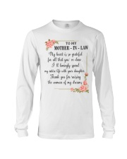 mother in law woman Long Sleeve Tee tile