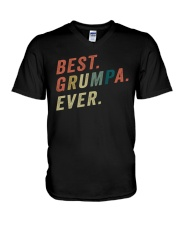 Best Grumpa Ever V-Neck T-Shirt thumbnail