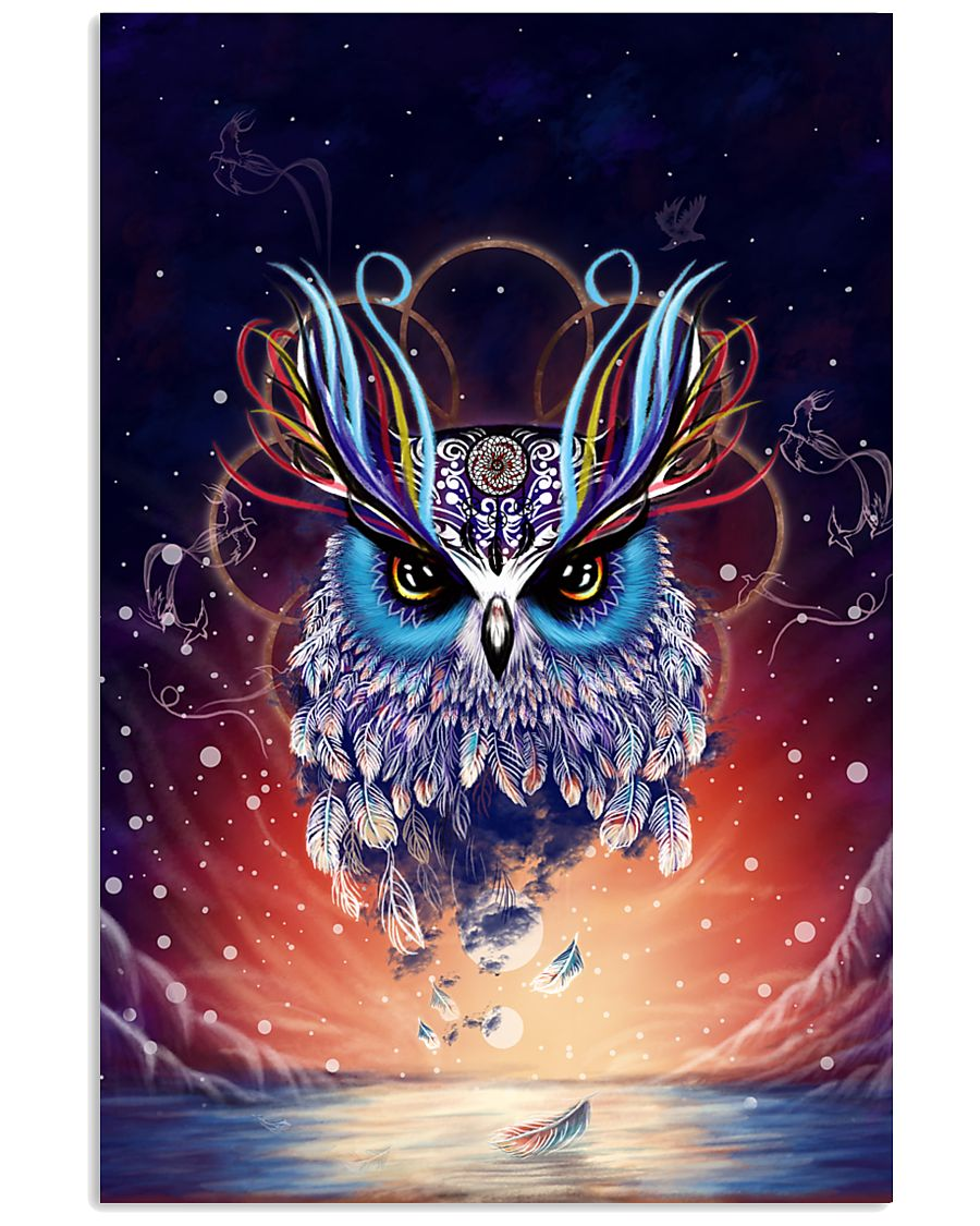 OWL COLORFUL 24x36 Poster