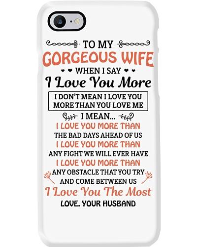 TO MY GOREOUS WIFE