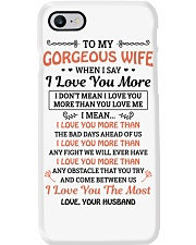 TO MY GOREOUS WIFE Phone Case thumbnail