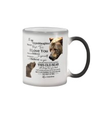 1 DAY LEFT - TO MY GRANDDAUGHTER FROM GRANDMA BEAR Color Changing Mug tile
