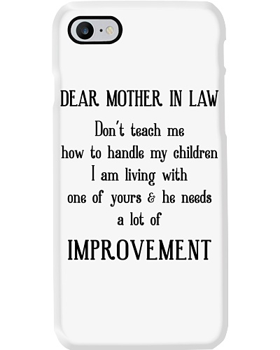 Mother-In-Law Don't Teach me Mug