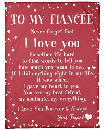 MY FIANCEE I LOVE YOU