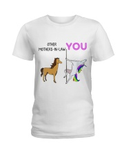 Happy Mother's Day - Mother-in-law - Unicorn Mug Ladies T-Shirt thumbnail