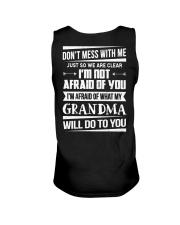Don't mess with me grandma Unisex Tank thumbnail